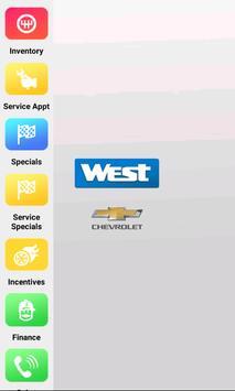 West Chevrolet Dealer App poster