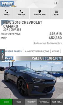 West Chevrolet Dealer App apk screenshot