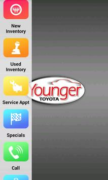 Younger Toyota Dealer App poster
