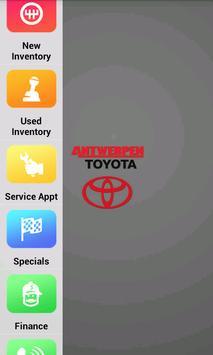Antwerpen Toyota poster