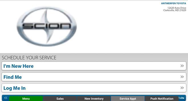 Antwerpen Toyota apk screenshot