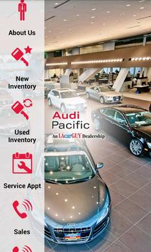 Audi Pacific poster