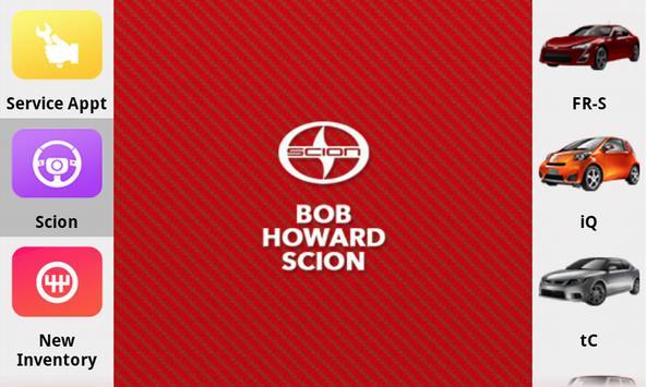 Bob Howard Scion poster