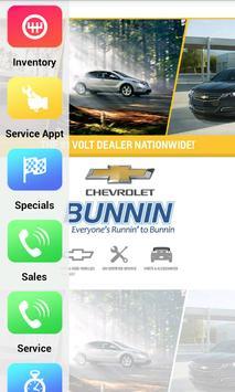 Bunnin Chevrolet Dealer App poster