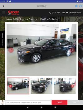 Carver Toyota screenshot 13