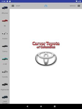 Carver Toyota screenshot 5