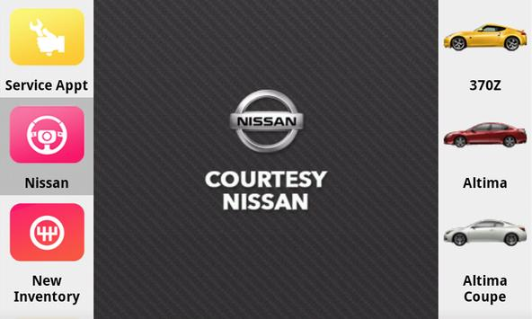 Courtesy Nissan poster