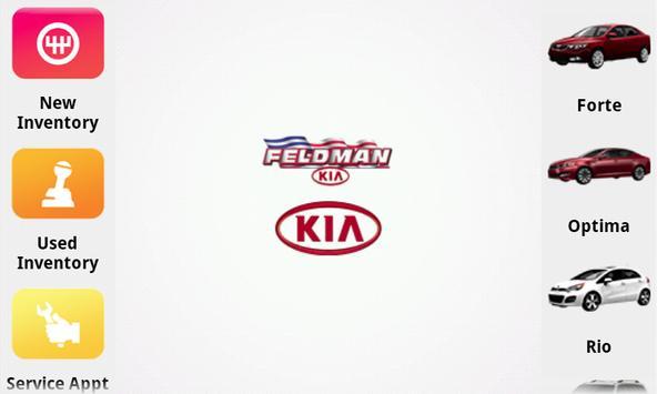 Feldman Kia poster