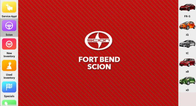 Fort Bend Scion screenshot 5