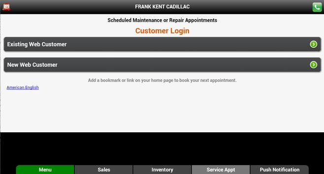 Frank Kent Cadillac apk screenshot