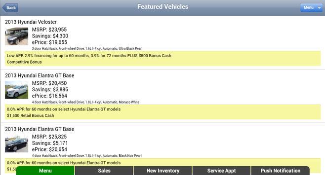 Gene Messer Hyundai screenshot 7
