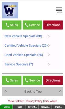 George Weber Chevrolet apk screenshot