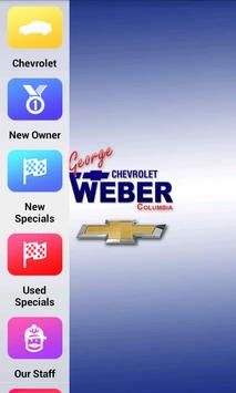 George Weber Chevrolet poster