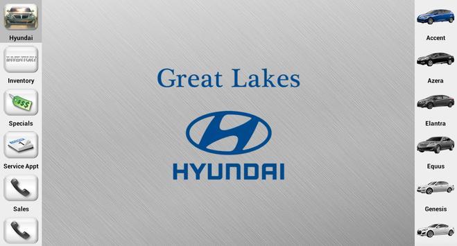 Great Lakes Hyundai Dealer App apk screenshot