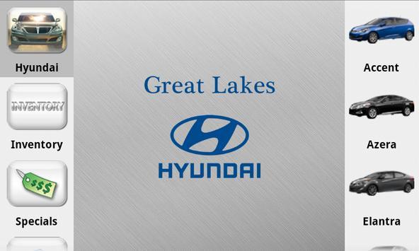 Great Lakes Hyundai Dealer App poster