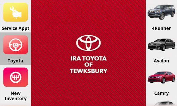 Ira Toyota of Tewksbury poster