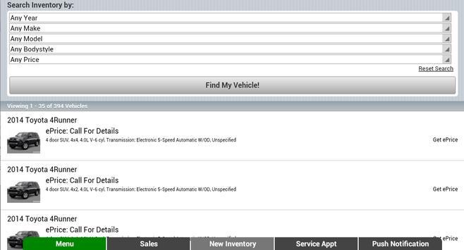 Ira Toyota of Tewksbury apk screenshot