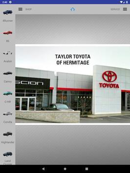 Taylor Toyota of Hermitage apk screenshot