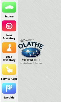 Olathe Subaru Dealer App poster