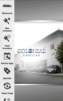Colonial Cadillac poster