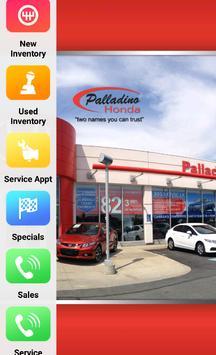 Palladino Honda poster