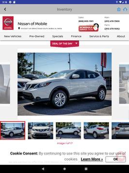 Nissan of Mobile screenshot 13