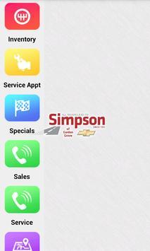 Simpson Chevrolet Garden Grove poster