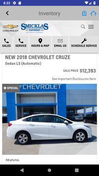 Smicklas Chevrolet screenshot 3