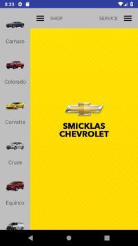 Smicklas Chevrolet poster