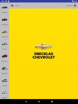 Smicklas Chevrolet screenshot 5