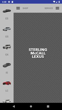 Sterling McCall Lexus poster