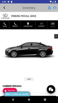 Sterling McCall Lexus screenshot 3