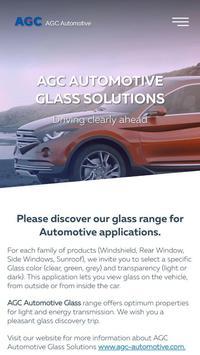 AGC Automotive EU Glass Range poster