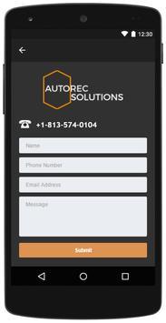 Autorec Solutions screenshot 3