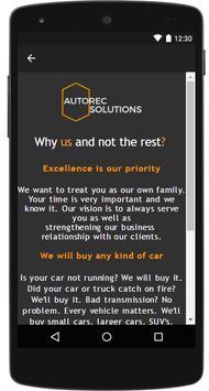 Autorec Solutions screenshot 1