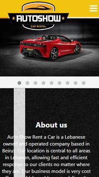 Auto Show Rent a Car screenshot 1