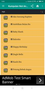 Kumpulan Not Angka Lagu Indonesia screenshot 6