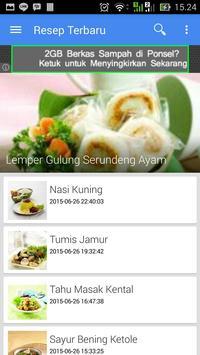 18 Ribu Lebih Resep Masakan screenshot 1