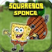 SquareBob Sponge Mod For MCPE icon