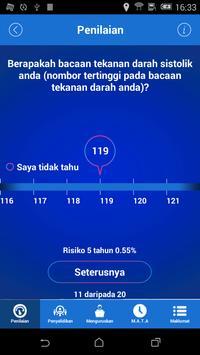 Strok Riskometer poster