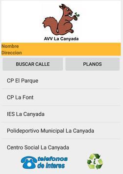 Callejero de La Canyada poster