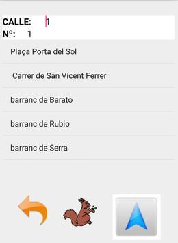 Callejero de La Canyada screenshot 1