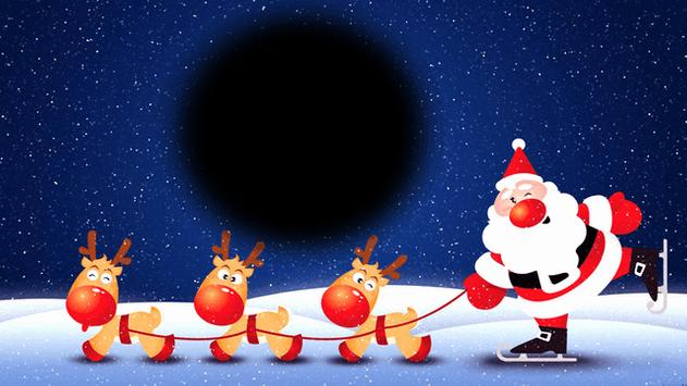 Santa Photo Frames poster