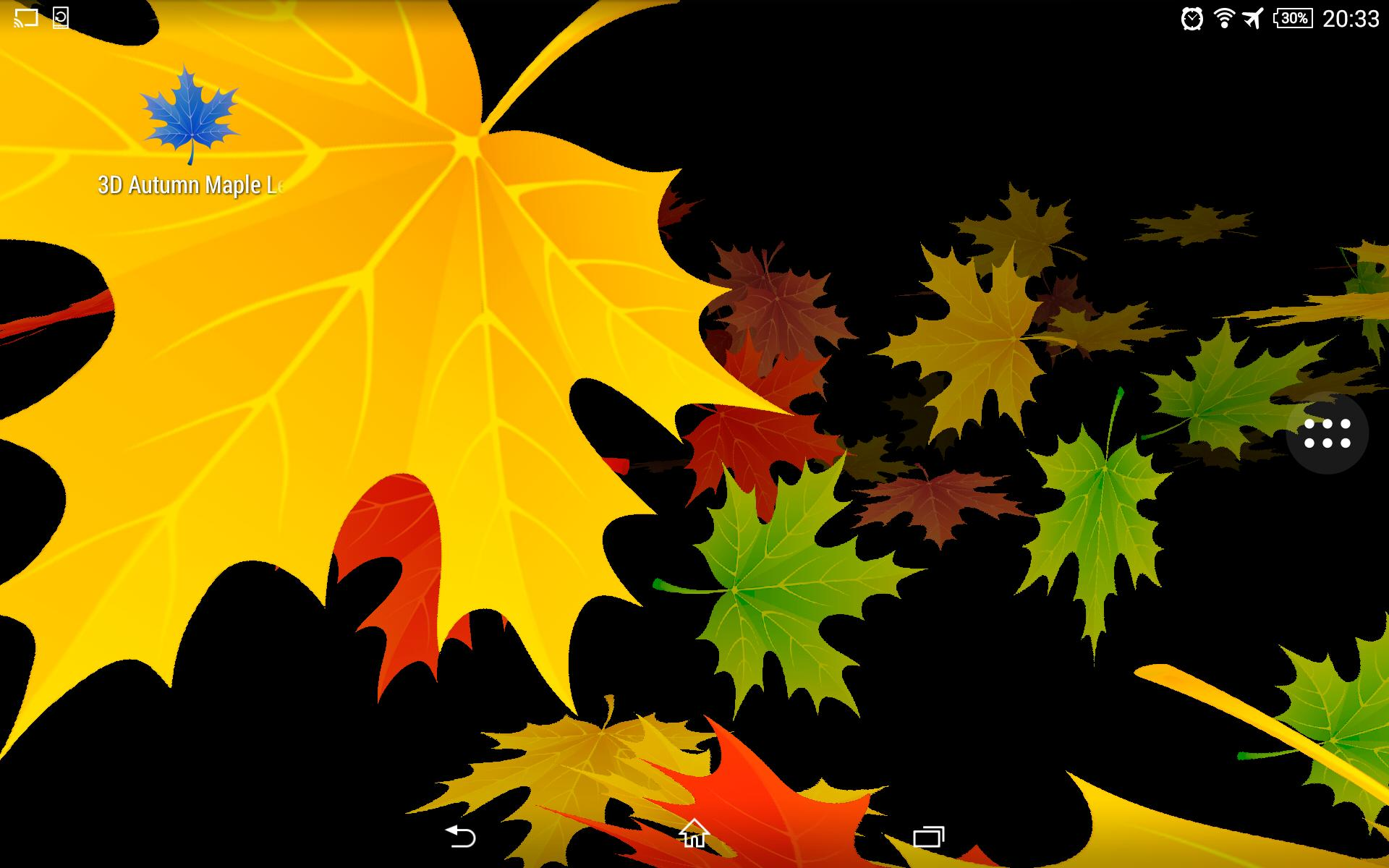 3D 🍁🍃🍂 Autumn Maple Leaves Free for Android - APK Download