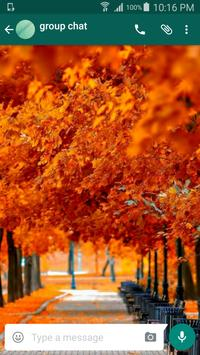 Autumn Wallpapers for Chat poster