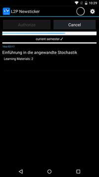 L2P NewsTicker apk screenshot