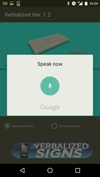 Verbalized Display screenshot 1