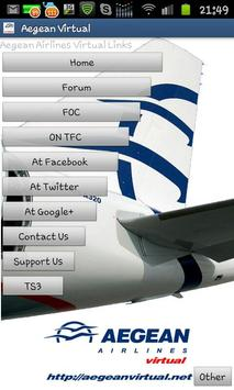 Aegean Airlines Virtual screenshot 1