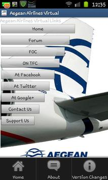 Aegean Airlines Virtual screenshot 4