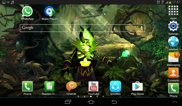 Pugna Dota 2 Live Wallpaper apk screenshot